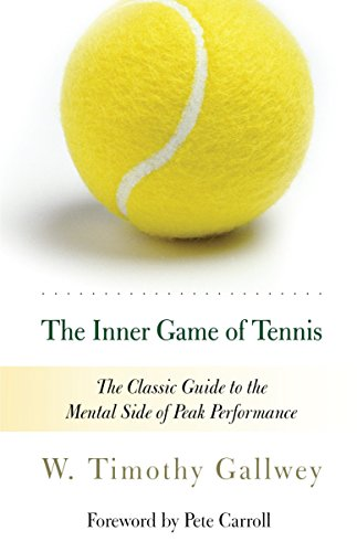 The best books on Sports Psychology - The Inner Game of Tennis by W. Timothy Gallwey