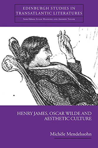Henry James, Oscar Wilde and Aesthetic Culture by Michèle Mendelssohn