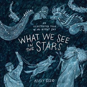 The Best Children's Nonfiction of 2018 - What We See in the Stars: An Illustrated Tour of the Night Sky by Kelsey Oseid