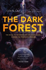 The best books on Existential Risks - The Dark Forest by Cixin Liu