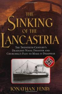 The best books on Charles de Gaulle and the French Resistance - The Sinking of the Lancastria by Jonathan Fenby
