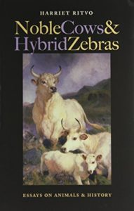 The best books on The History of Human Interaction With Animals - Noble Cows and Hybrid Zebras: Essays on Animals and History by Harriet Ritvo