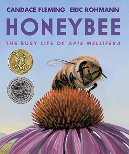 Honeybee: The Busy Life of Apis Mellifera by Candace Fleming & Eric Rohmann (illustrator)