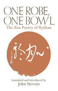 Meditation Books - One Robe, One Bowl: The Zen Poetry of Ryōkan by Ryōkan