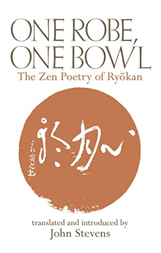 A Meditation Expert's Favorite Books - One Robe, One Bowl: The Zen Poetry of Ryōkan by Ryōkan