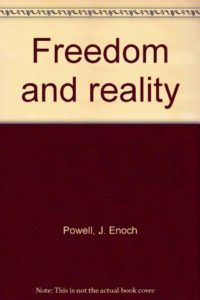 The best books on Margaret Thatcher - Freedom and Reality by J Enoch Powell
