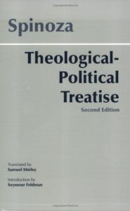 The best books on God - Tractatus Theologico-Politicus by Baruch Spinoza & Samuel Shirley