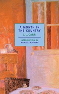 The Best Novellas - A Month in the Country by J. L. Carr