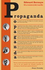 The best books on Personal Branding - Propaganda by Edward Bernays