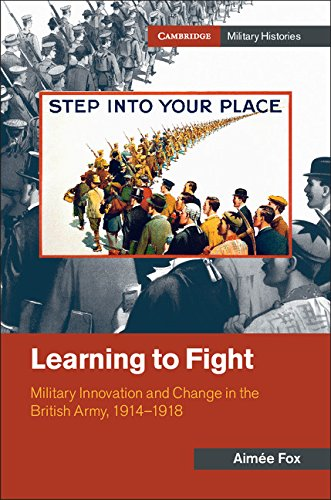 The best books on World War I - Learning to Fight by Aimee Fox