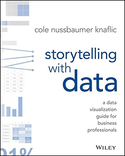 The best books on Data Science - Storytelling with Data: A Data Visualization Guide for Business Professionals by Cole Nussbaumer Knaflic