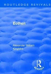 Books on Living Through an Epidemic - Eothen by Alexander Kinglake