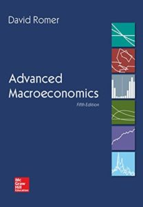 The Best Macroeconomics Textbooks - Advanced Macroeconomics by David Romer
