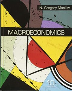 The Best Macroeconomics Textbooks - Macroeconomics by Greg Mankiw