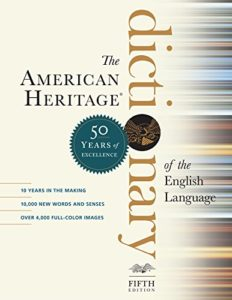 Grammar Books That Prove What They Preach - American Heritage Dictionary of the English Language