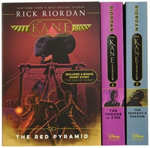 Kane Chronicles Boxset by Rick Riordan