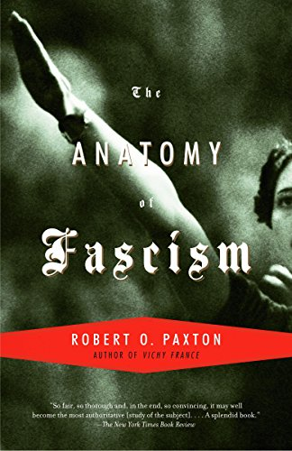 The best books on Fascism - Anatomy of Fascism by Robert O. Paxton