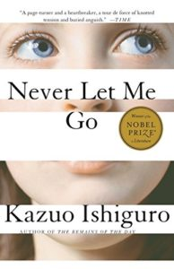 The Best Boarding School Novels - Never Let Me Go by Kazuo Ishiguro