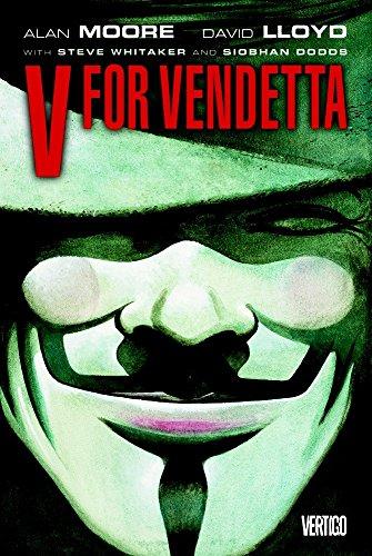 The best books on Brexit - V For Vendetta by Alan Moore & David Lloyd (illustrator)