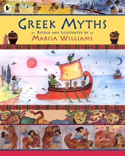 The Best Graphic Novels for Eight Year Olds - The Greek Myths by Marcia Williams