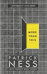 The Best Young Adult Science Fiction Books - More Than This by Patrick Ness