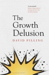 The best books on GDP - The Growth Delusion: The Wealth and Well-Being of Nations by David Pilling