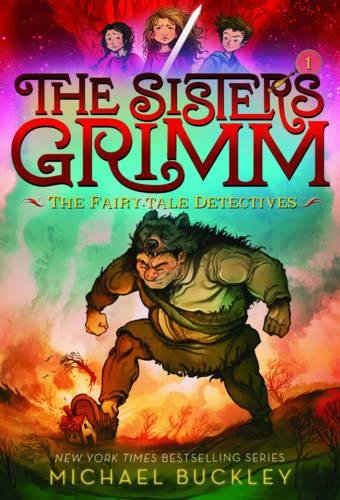 The Best Fantasy Books for Young Adults - Sisters Grimm: The Fairy Detectives (Bk 1) by Michael Buckley