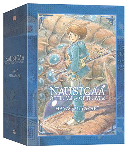 The best books on Manga and Anime - Nausicaä of the Valley of the Wind by Hayao Miyazaki