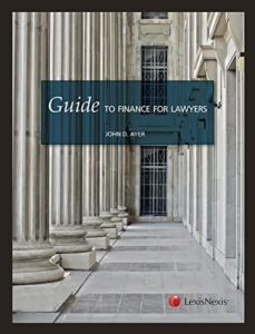 The best books on Bankruptcy - Guide to Finance for Lawyers by John Ayer
