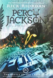 The Best Rick Riordan Books - The Battle of the Labyrinth by Rick Riordan