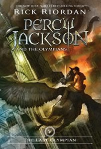 The Best Rick Riordan Books - The Last Olympian by Rick Riordan