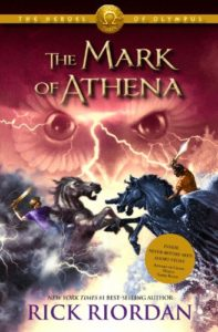 The Best Rick Riordan Books - The Mark of Athena by Rick Riordan