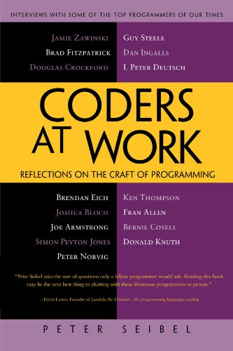 The best books on Learning Python and Data Science - Coders at Work: Reflections on the Craft of Programming by Peter Seibel