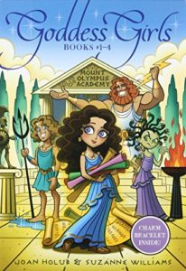 Best Series for 10 Year Olds - Goddess Girls by Joan Holub and Suzanne Williams