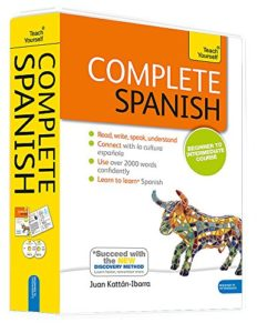The Best Books for Learning Spanish - Complete Spanish: A Teach Yourself Program by Juan Kattan-Ibarra