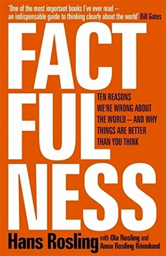 Factfulness: Ten Reasons We're Wrong About The World — And Why Things Are Better Than You Think by Hans Rosling
