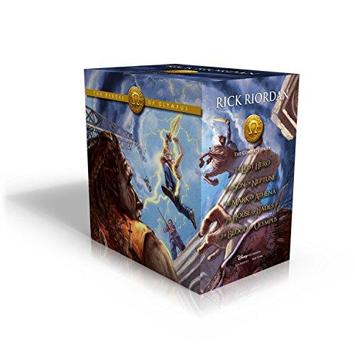Heroes of Olympus Boxset by Rick Riordan