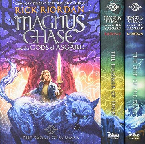 Magnus Chase and the Gods of Asgard Boxset by Rick Riordan