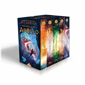 The Trials of Apollo Boxset by Rick Riordan
