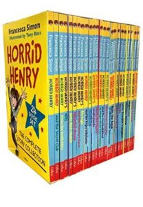 The Best Anthony Trollope Books - Horrid Henry Boxset by Francesca Simon & Tony Ross (illustrator)