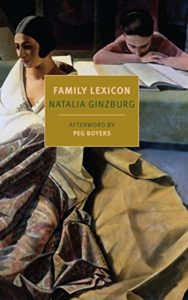 The best books on Fascism - Family Lexicon by Natalia Ginzburg