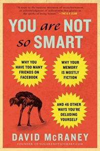 The Best Psychology Books for Teens - You Are Not So Smart by David McRaney