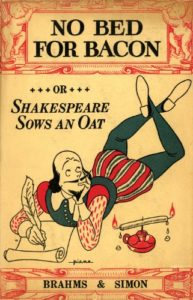 Comfort Reads - No Bed for Bacon: Or Shakespeare Sows an Oat by Caryl Brahms & SJ Simon