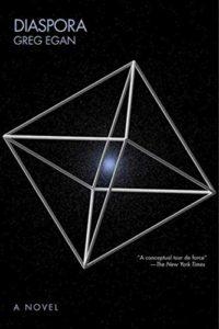 The best books on Philosophical Wonder - Diaspora by Greg Egan
