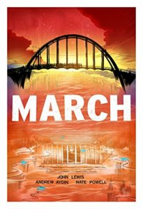 The best books on Political Engagement For Teens - March by John Lewis