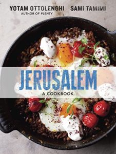 Yotam Ottolenghi selects his Favourite Cookbooks - Jerusalem by Sami Tamimi & Yotam Ottolenghi