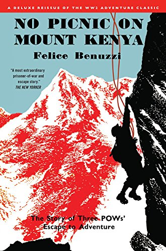 The Best Books by Adventurers - No Picnic on Mount Kenya by Felice Benuzzi