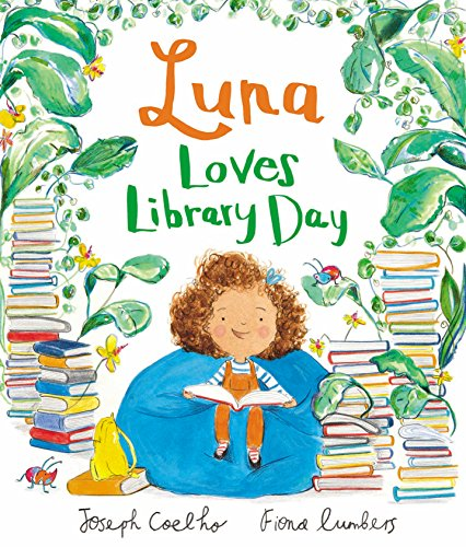 The best books on Grandparents and Grandchildren - Luna Loves Library Day by Joseph Coelho and illustrated by Fiona Lumbers