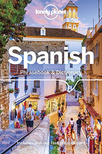 Lonely Planet Spanish Phrasebook & Dictionary by Cristina Hernandez Montero & Marta Lopez