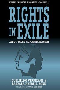 The best books on Italian Political Philosophy - Rights in Exile by Barbara Harrell-Bond & Guglielmo Verdirame